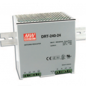 DRT-240 240W Mean Well Three Phase Industrial DIN RAIL Power Supply