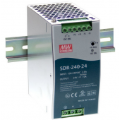 SDR-240 240W Mean Well DIN RAIL With PFC Function Power Supply