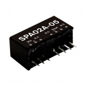 SPA02 2W Mean Well Regulated Single Output Converter Power Supply