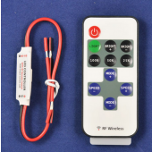 Mini Single Color LED Controller With RF Wireless Remote For LED Strip