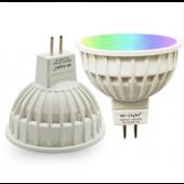 MR16 12V 2.4G APP Controllable Mi.Light FUT104 RGB+CCT LED Smart Lamp
