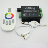 Music 2 Controller LED RGB Controller RF Remote DC12-24V