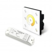 Bincolor Led P2X+R4-CC-2.4G Wireless CC CCT Panel DMX512 4CH 12v-48v Controller