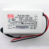 PLD-25 Series Mean Well 25W Single Output Power Supply LED Driver