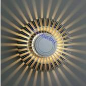 Sunflower Aluminum 3W Led Wall Lamp decor light AC 85-265V