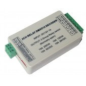 WS-DMX-RELAY-3CH 12v 3ch Relays Dmx512 3P led Decoder Dimmer